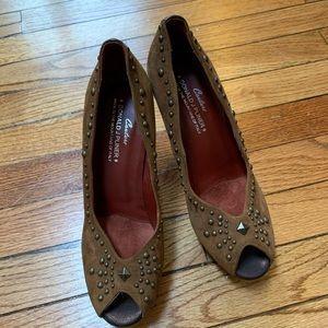 Donald J Pliner studded heels
